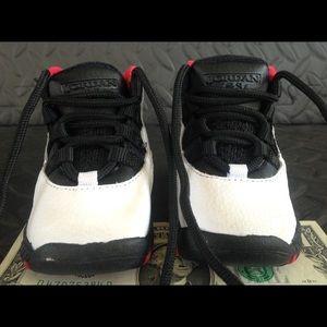 4e1b0823de03 jordan retro 10 Shoes - Jordan retro 10 45 Chicago infant size 2c